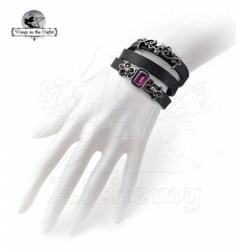 25ce3fb9a6d Alchemy Gothic - Pirate Princess Wrist Strap Bracelet